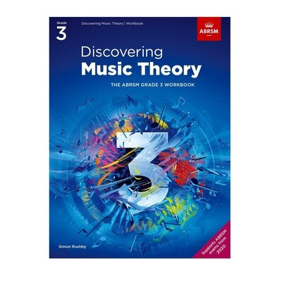 ABRSM Discovering Music Theory Book -  Grade 3