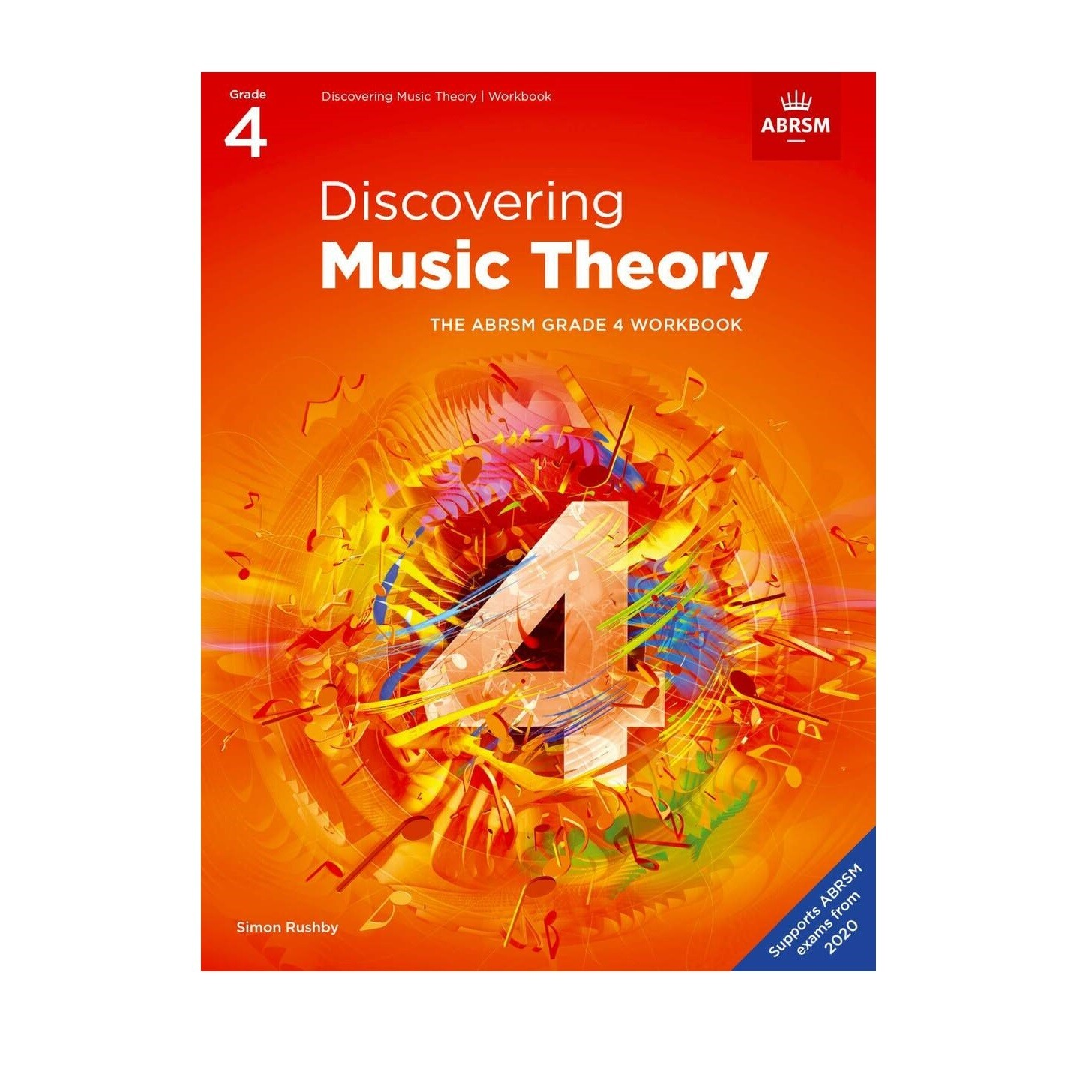 ABRSM Discovering Music Theory Book -  Grade 4