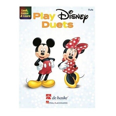 Look, Listen, and Learn - Play Disney Duets for Flute