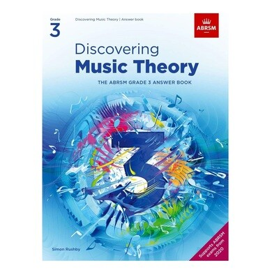 ABRSM Discovering Music Theory Answer Book -  Grade 3