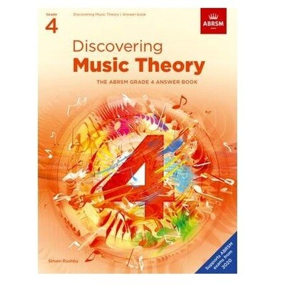 ABRSM Discovering Music Theory Answer Book -  Grade 4
