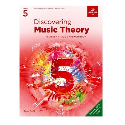 ABRSM Discovering Music Theory Answer Book -  Grade 5