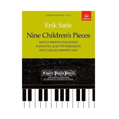 Nine Children's Pieces - Satie
