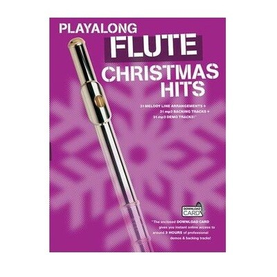 Playalong Flute Christmas Hits (with Online Audio)