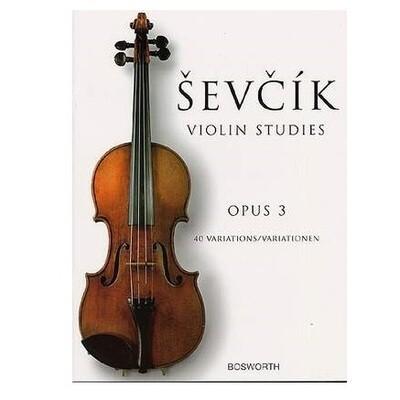Sevcik - 40 Violin Studies Op.3