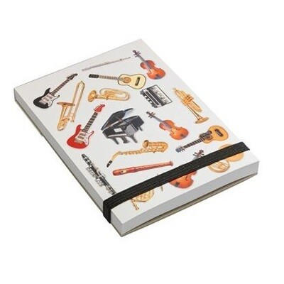Note pad A7 - Various Instruments
