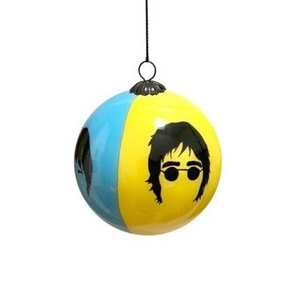 Glass Christmas Tree Bauble : The Beatles