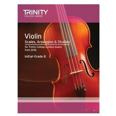 Trinity Violin Scales, Arpeggios & Studies