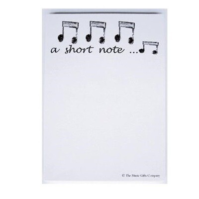A Short Note Notepad