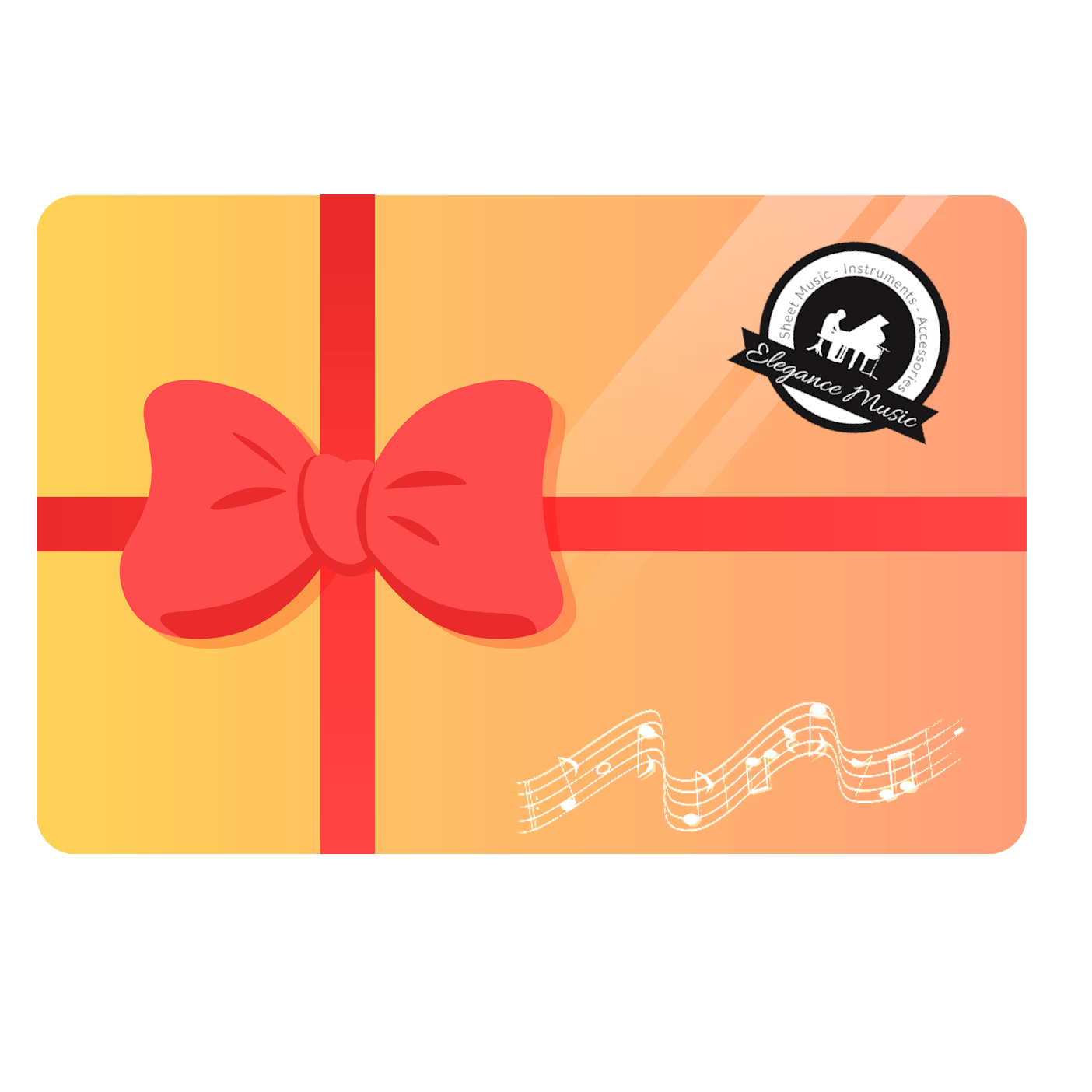 Elegance Music Gift Card