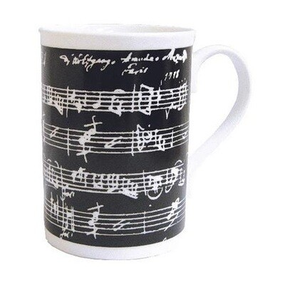 Music Manuscript Mug