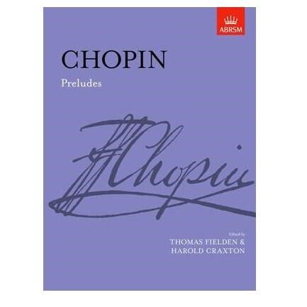 Frederic Chopin: Preludes For Piano Solo