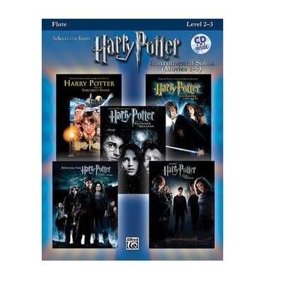 Harry Potter Instrumental Solos (Flute) Movies 1-5