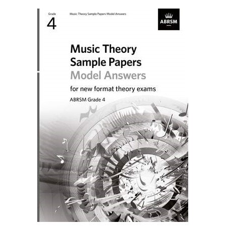ABRSM Music Theory Sample Papers Model Answers (new 2020 format) - Grade 4