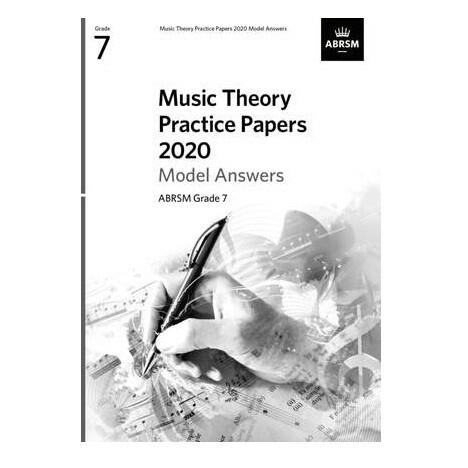ABRSM Music Theory Model Answers (new 2020 format) - Grade 7