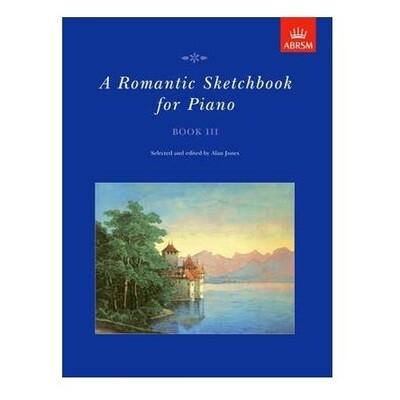 A Romantic Sketchbook for Piano, Book III
