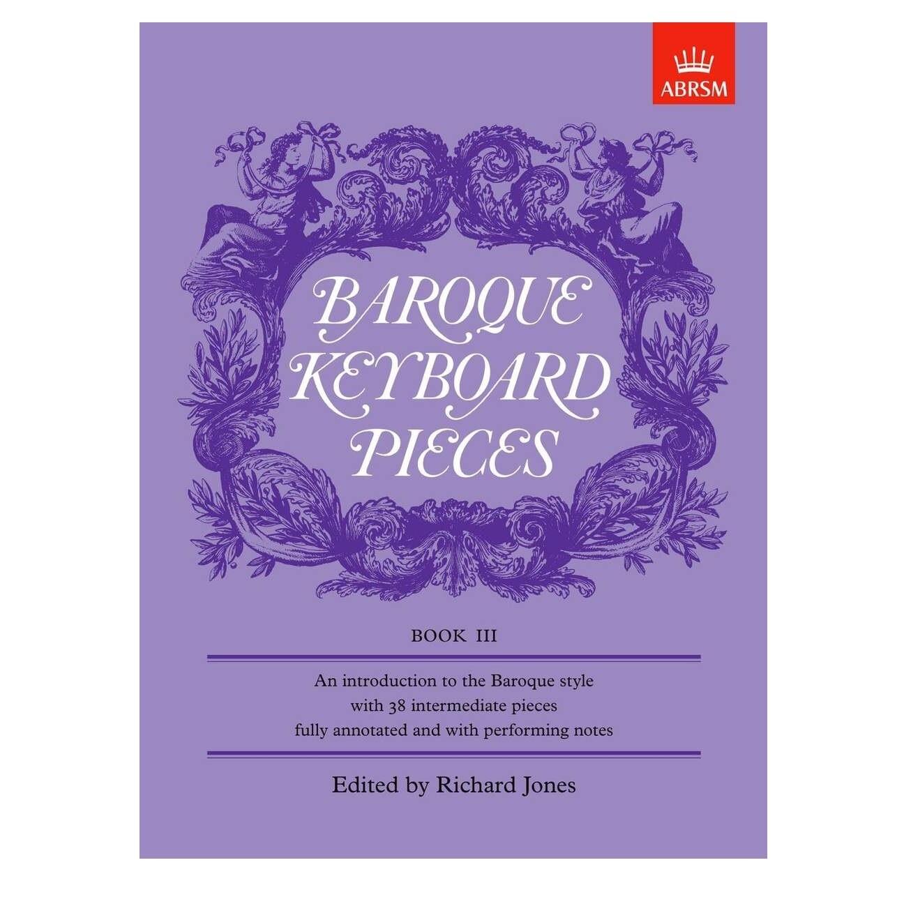 Baroque Keyboard Pieces, Book III