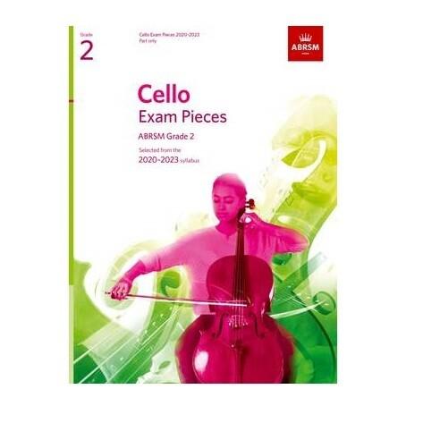 ABRSM Cello Exam Pieces 2020-2023 Grade 2 (Part Only)
