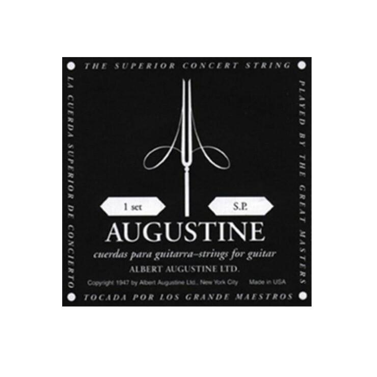 Augustine Acoustic Guitar Strings Set - Black
