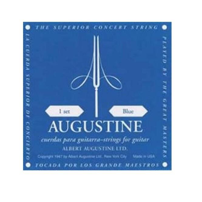 Augustine Acoustic Guitar Strings Set - Blue
