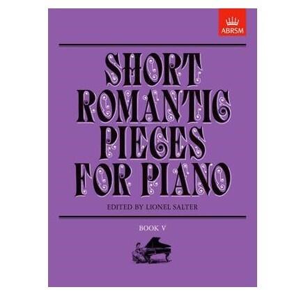 Short Romantic Pieces for Piano, Book V