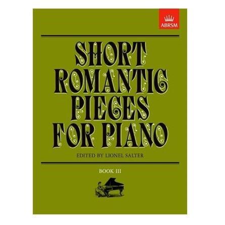 Short Romantic Pieces for Piano, Book III