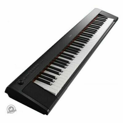 Yamaha NP-32 Piaggero Slimline Home Keyboard (In Black Finish)