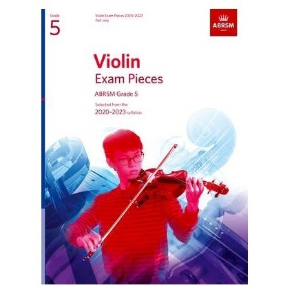 ABRSM Violin Exam Pieces 2020-2023 Grade 5 ( Part Only)