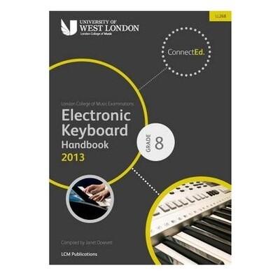 LCM Electronic Keyboard Handbook Grade 8 (2013+)
