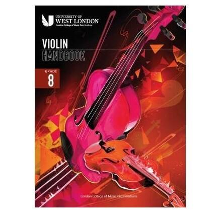 LCM Violin Handbook Grade 8 2021