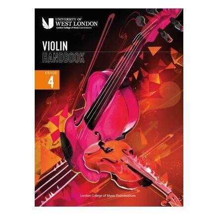 LCM Violin Handbook Grade 4 2021