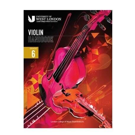LCM Violin Handbook Grade 6 2021