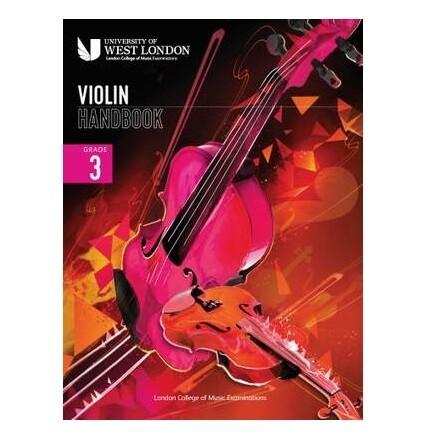 LCM Violin Handbook Grade 3 2021