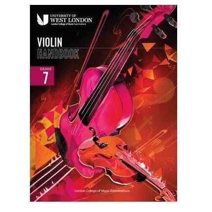 LCM Violin Handbook Grade 7 2021
