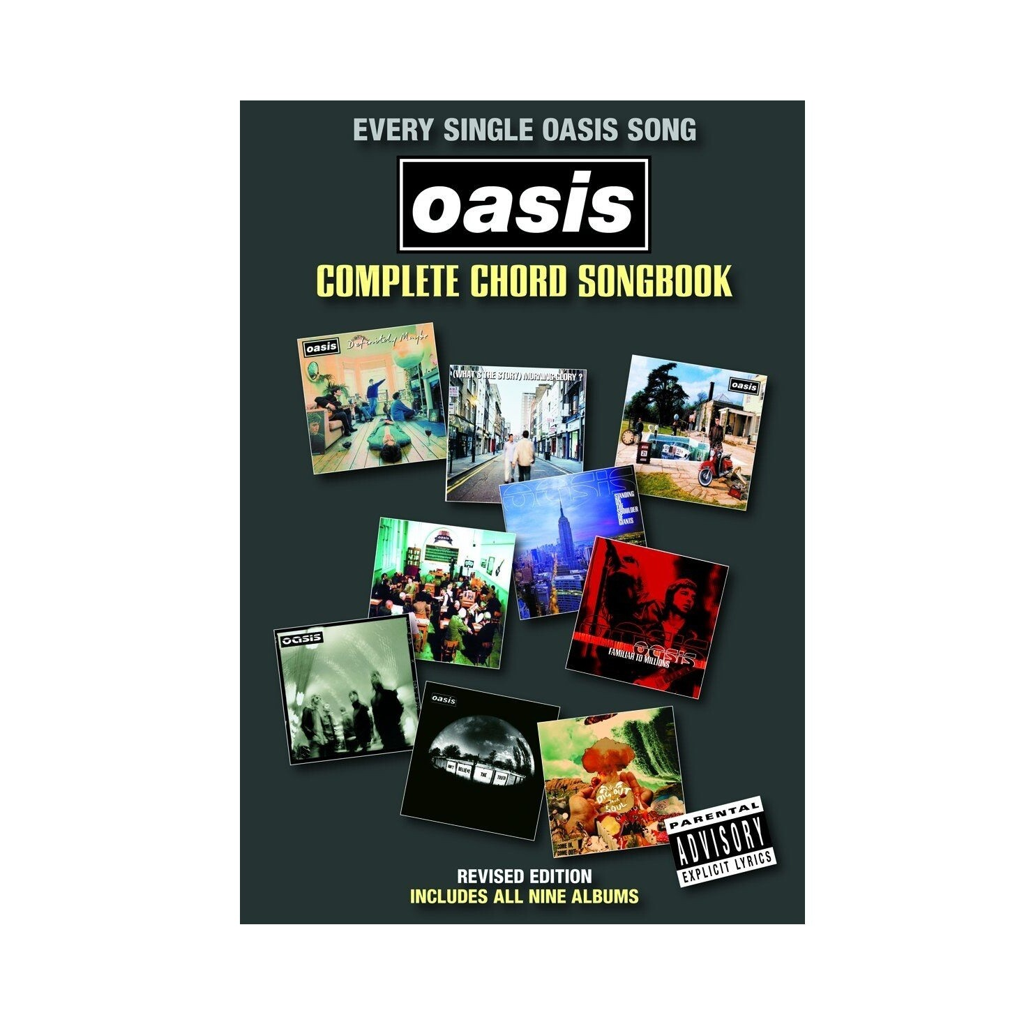 Oasis - Complete Chord Songbook