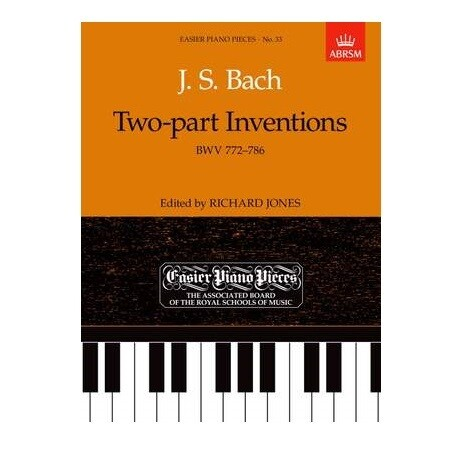 J.S. Bach - Two Part Interventions (Edited by Richard Jones)