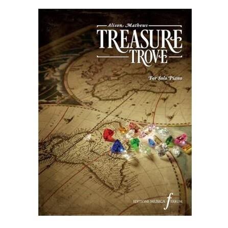 Treasure Trove For Solo Piano - Alison Mathews