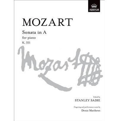 Mozart, WA - Sonata in A