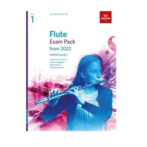 ABRSM Flute Exam Pack Grade 1 2022-2025