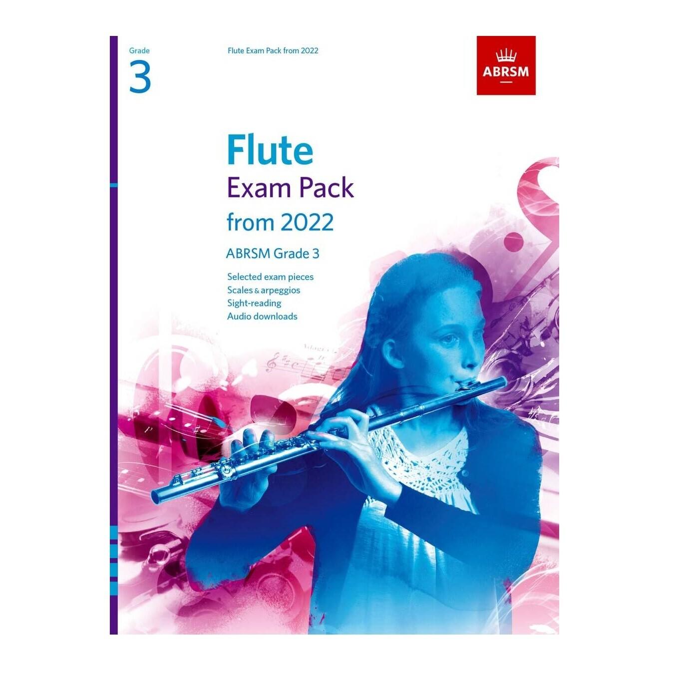 ABRSM Flute Exam Pack Grade 3 2022-2025