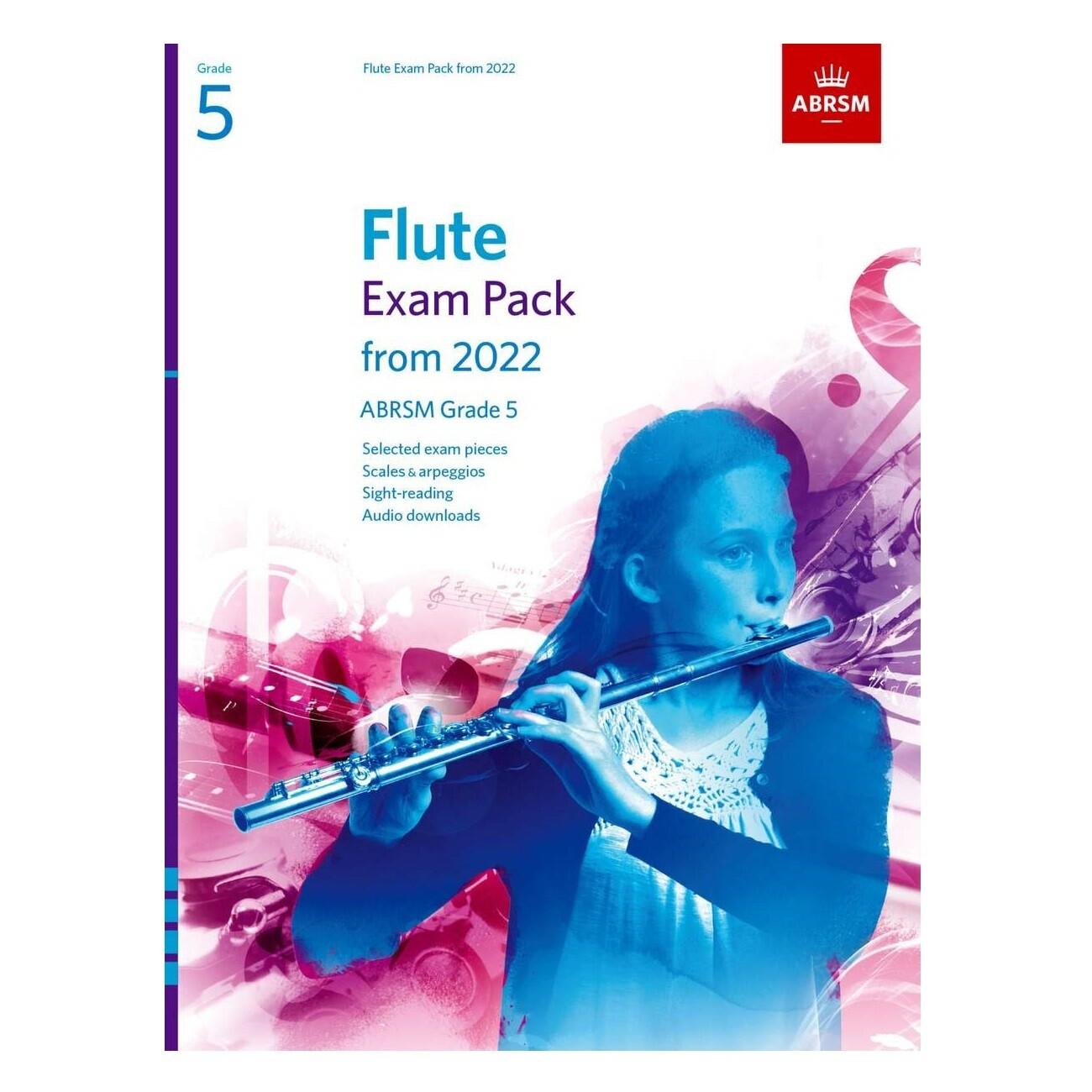 ABRSM Flute Exam Pack Grade 5 2022-2025