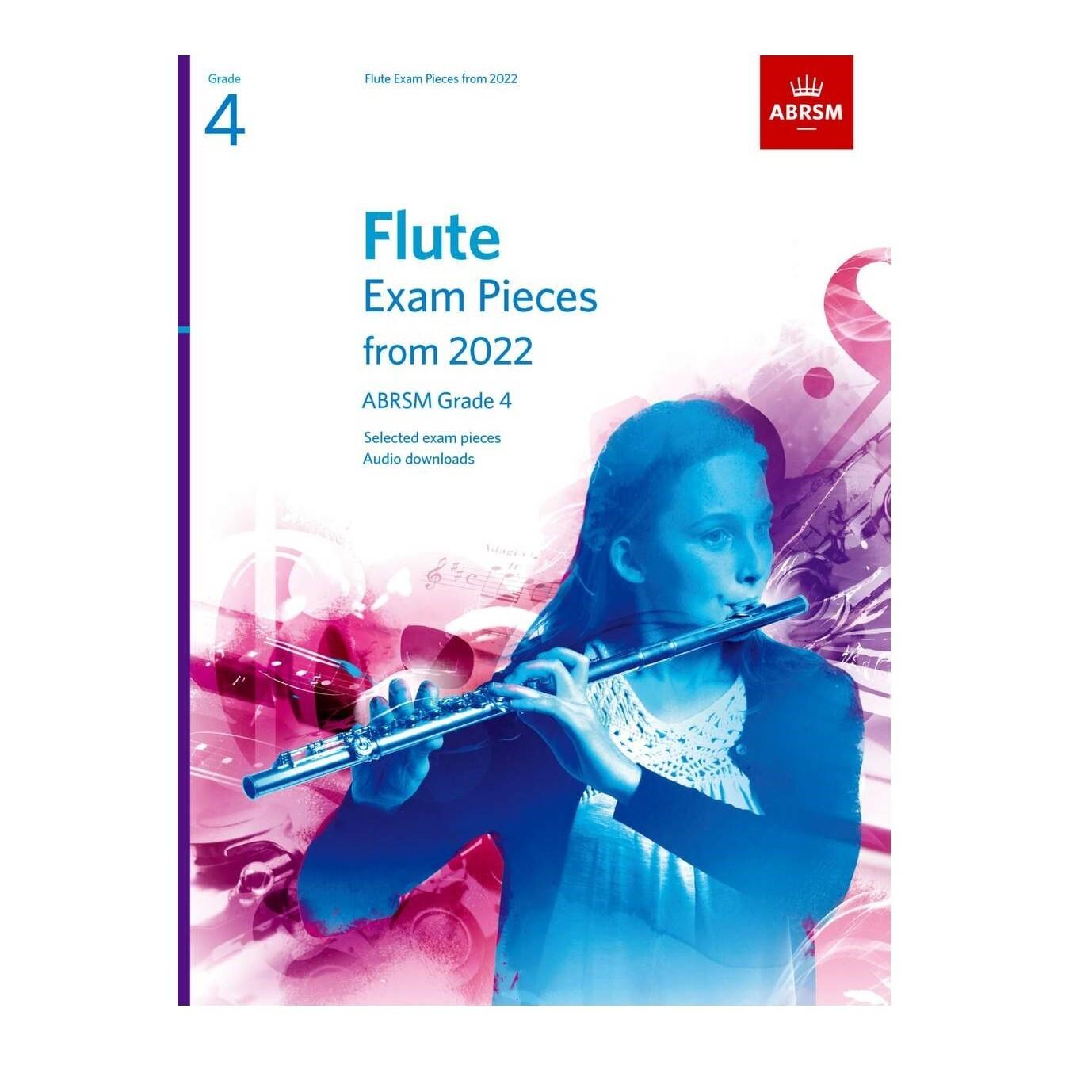 ABRSM Flute Exam Pieces Grade 4 2022-2025