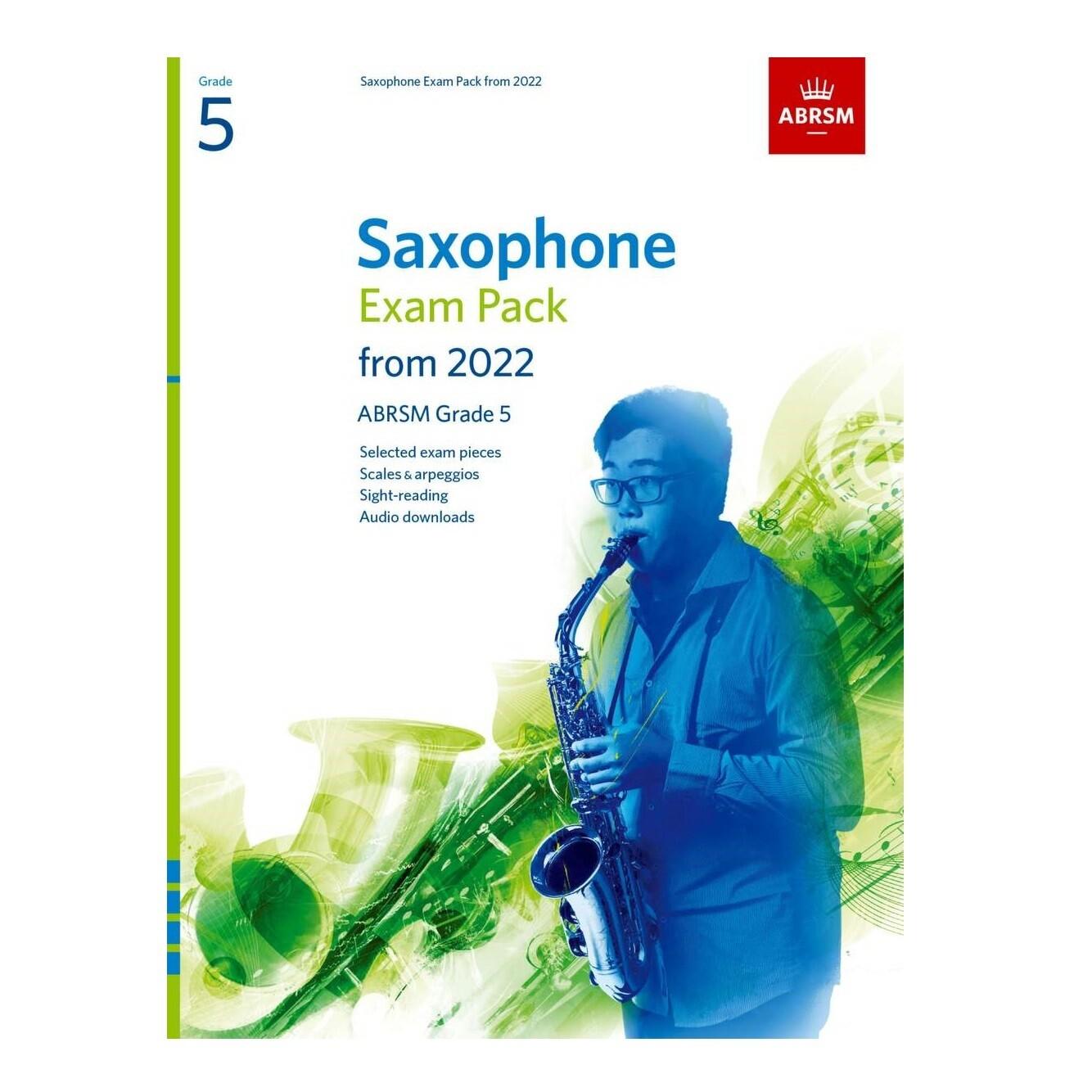 ABRSM Saxophone Exam Pack Grade 5 2022-2025