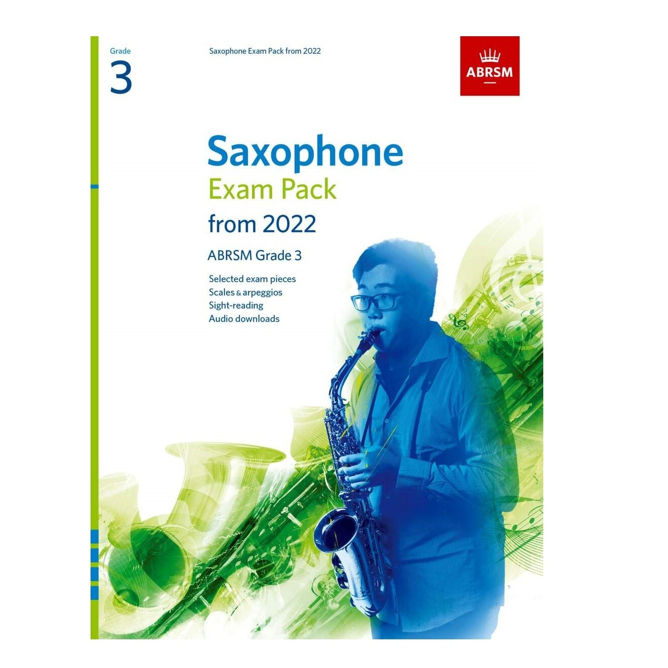 ABRSM Saxophone Exam Pack Grade 3 2022-2025