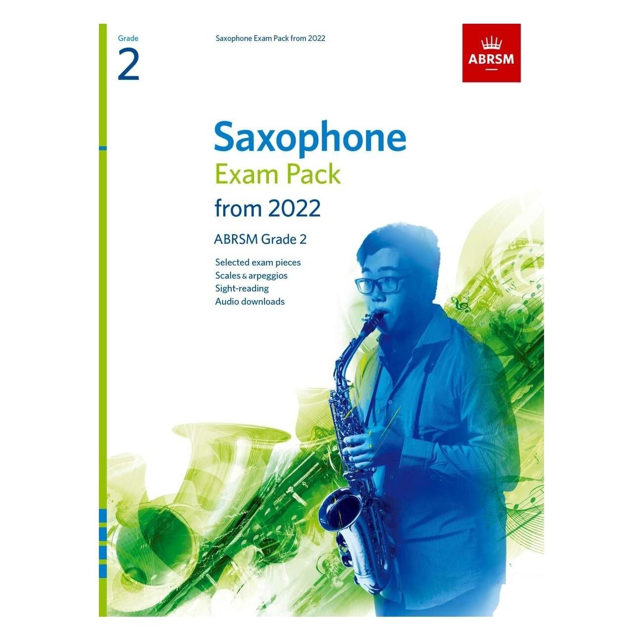 ABRSM Saxophone Exam Pack Grade 2 2022-2025