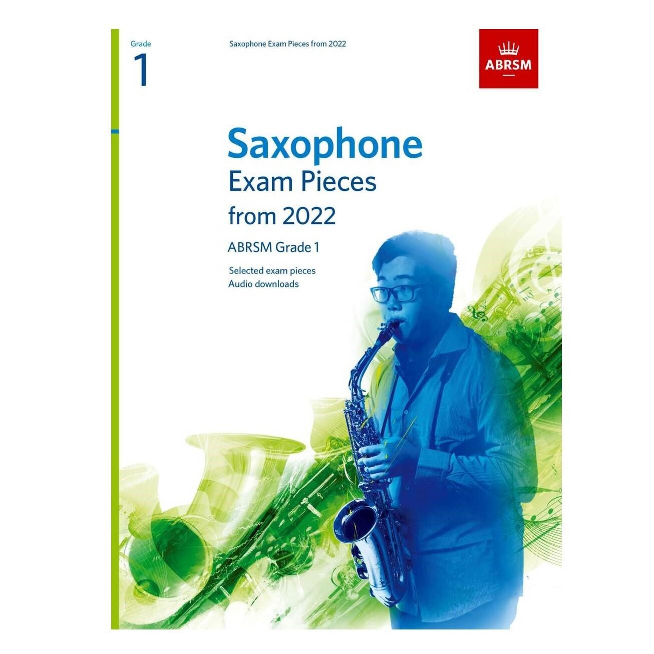ABRSM Saxophone Exam Pieces Grade 1 2022-2025