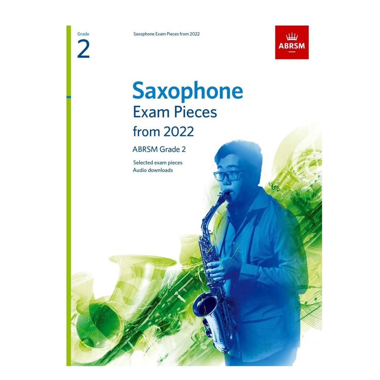 ABRSM Saxophone Exam Pieces Grade 2 2022-2025