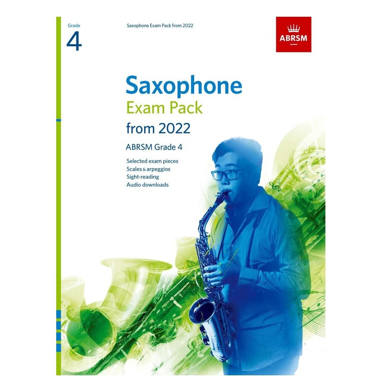 ABRSM Saxophone Exam Pack Grade 4 2022-2025