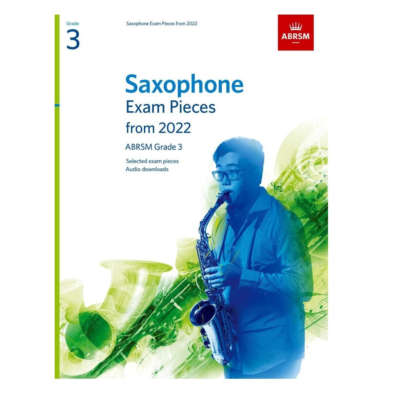 ABRSM Saxophone Exam Pieces Grade 3 2022-2025