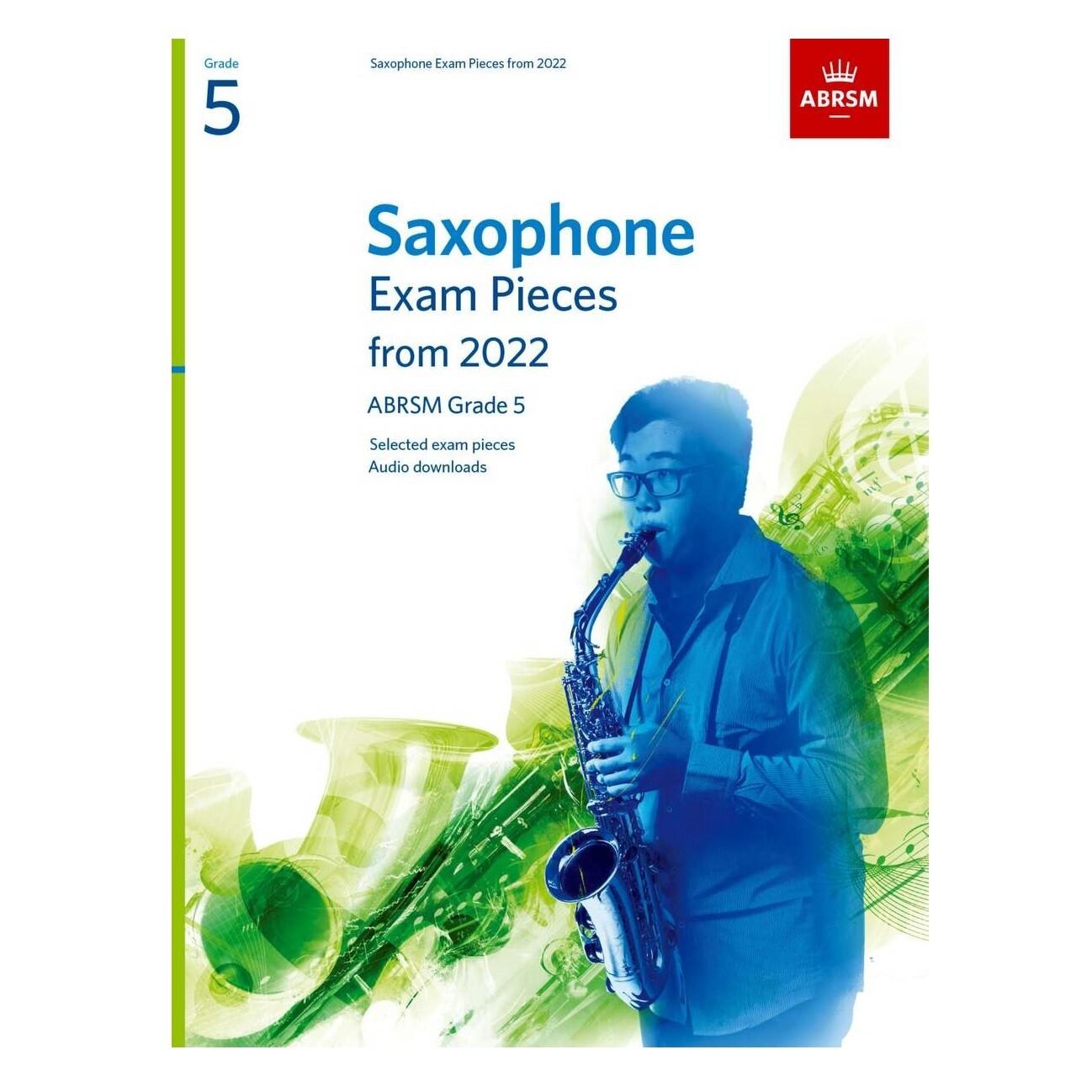 ABRSM Saxophone Exam Pieces Grade 5 2022-2025